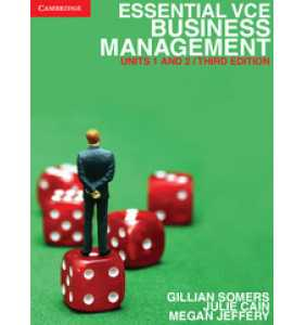 *REDUCED*  Essential VCE Business Management Units 1 and 2 (RRP $66.95)