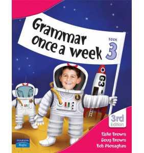 Grammar Once a Week - Book 3
